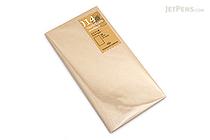 Traveler's Notebook Refill 014 - Regular Size - Kraft Paper - TRAVELER'S 14365006