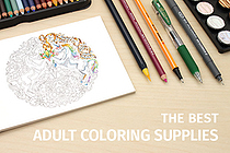 Guide to Adult Coloring Supplies