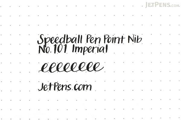 Speedball Pen Point Nib - No. 101 Imperial - SPEEDBALL 9401