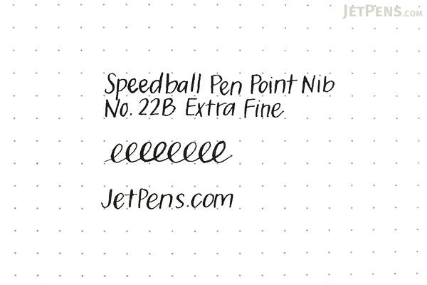 Speedball Pen Point Nib - No. 22B Extra Fine - Pack of 2 - SPEEDBALL 9489