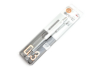 Pentel Orenz Mechanical Pencil - Metal Grip - 0.3 mm - White - PENTEL XPP1003G-W