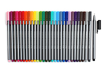Staedtler Triplus Fineliner Pen - 0.3 mm - 30 Color Bundle - JETPENS STAEDTLER 334 BUNDLE