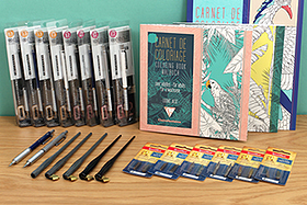 New Products: Orenz Mechanical Pencils, Clairefontaine Coloring Books, Ziller Nib holders, Speedball Nibs, and More!