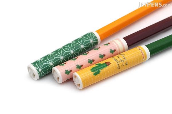 Iconic Pencil Cap Set - Green - ICONIC PCAP-GREEN