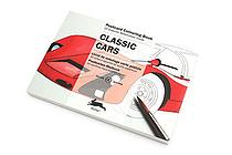 Pepin Postcard Coloring Book - Classic Cars - PEPIN 96020