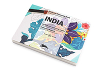 Pepin Postcard Coloring Book - India - PEPIN 96150