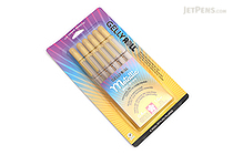 Sakura Gelly Roll Metallic Gel Pen - 1.0 mm - Gold - 6 Pen Set - SAKURA 57383