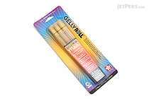 Sakura Gelly Roll Metallic Gel Pen - 1.0 mm - Gold - 3 Pen Set - SAKURA 57385