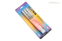 Sakura Gelly Roll Metallic Gel Pen - 1.0 mm - Silver - 3 Pen Set - SAKURA 57386