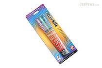 Sakura Gelly Roll Metallic Gel Pen - 1.0 mm - Blue/Purple/Green - 3 Color Set - SAKURA 57482