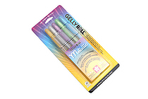 Sakura Gelly Roll Metallic Gel Pen - 1.0 mm - Hot Metallic - 5 Color Set - SAKURA 57373