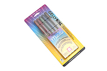 Sakura Gelly Roll Metallic Gel Pen - 1.0 mm - Dark Metallic - 5 Color Set - SAKURA 57375