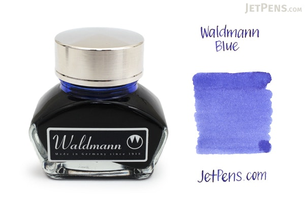 Waldmann Blue Ink - 30 ml Bottle - WALDMANN 0123