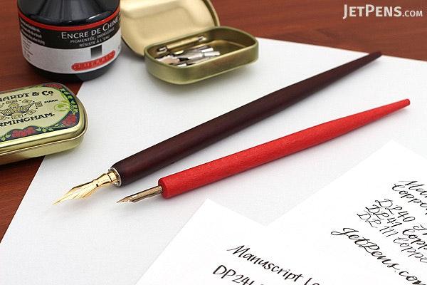 Manuscript Leonardt Italic Dip Pen & Nibs Set - MANUSCRIPT MDP2046