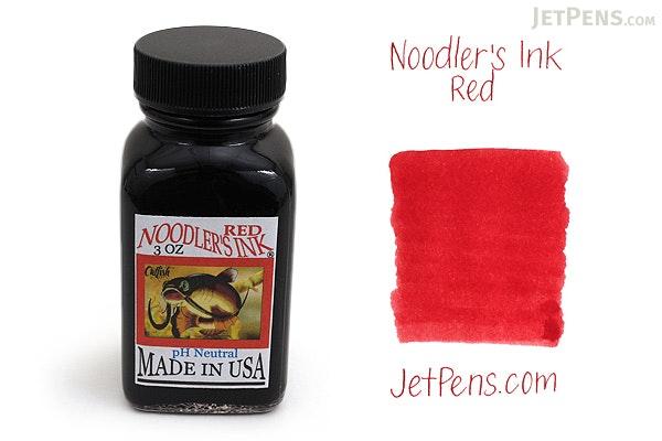Noodler's Red Ink - 3 oz Bottle - NOODLERS 19002