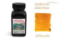 Noodler's Golden Brown Ink - 3 oz Bottle - NOODLERS 19011