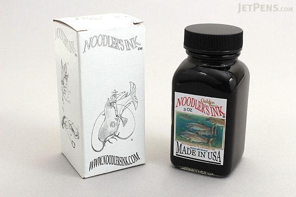 Noodler's Golden Brown Ink - 3 oz Bottle - NOODLERS 19011