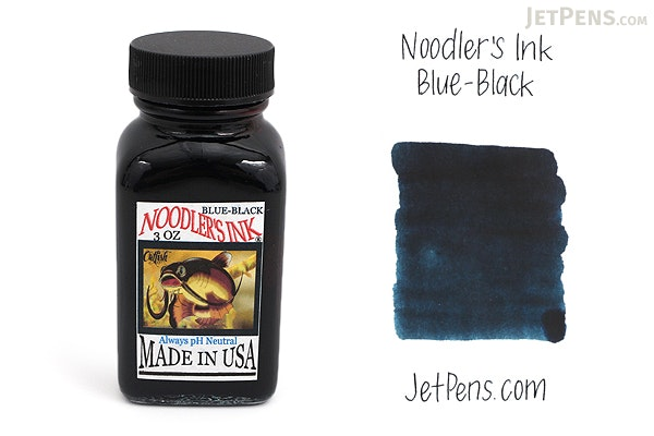 Noodler's Blue-Black Ink - 3 oz Bottle - NOODLERS 19014