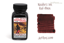 Noodler's Red Black Ink - 3 oz Bottle - NOODLERS 19019