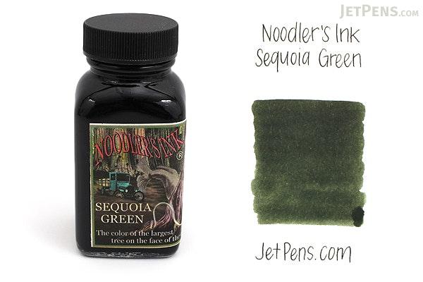 Noodler's Sequoia Green Ink - 3 oz Bottle - NOODLERS 19025