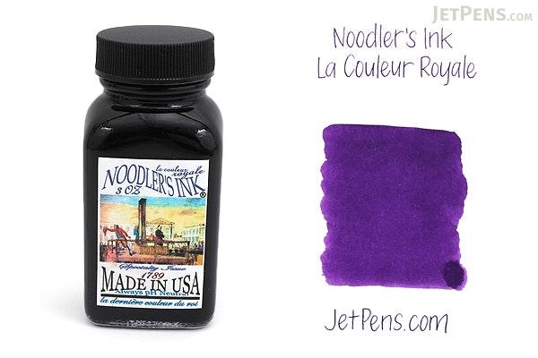 Noodler's La Couleur Royale Ink - 3 oz Bottle - NOODLERS 19030