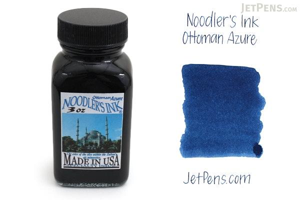 Noodler's Ottoman Azure Ink - 3 oz Bottle - NOODLERS 19035