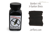 Noodler's X-Feather Black Ink - 3 oz Bottle - NOODLERS 19046
