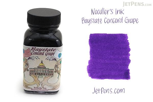 Noodler's Baystate Concord Grape Ink - 3 oz Bottle - NOODLERS 19049