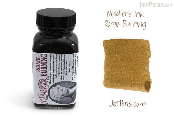 Noodler's Rome Burning Ink - 3 oz Bottle - NOODLERS 19069