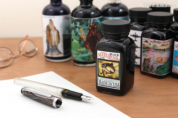 Noodler's Atlantic Salmon Ink - 3 oz Bottle - NOODLERS 19174