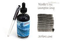 Noodler's Lexington Gray Ink - 4.5 oz Bottle with Free Pen - NOODLERS 19804