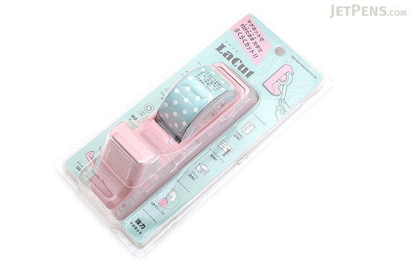Sun-Star LaCut Tape Dispenser with Magnet - Pink - SUN-STAR S4832442
