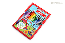 Stabilo Pen 68 Mini Marker - 1.0 mm - 12 Color Set - STABILO 668/12