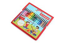 Stabilo Pen 68 Mini Marker - 1.0 mm - 18 Color Set - STABILO 668/18