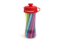 Stabilo Pen 68 Mini Marker - 1.0 mm - 18 Color Set - Sporty - STABILO 668/18-041