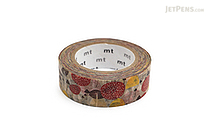 MT Almedahls Washi Tape - I Svampskogen (Mushroom Forest) - 15 mm x 10 m - MT MTALME02Z