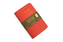 "Field Notes Sweet Tooth Memo Books - 3.5"" x 5.5"" - Blank - Pack of 3 - FIELD NOTES FNC-30"