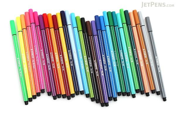 Stabilo Pen 68 Marker - 1.0 mm - 30 Color Set - STABILO 6830-1