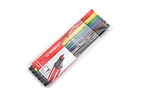 Stabilo Pen 68 Marker - 1.0 mm - 6 Color Set - STABILO 6806 PL