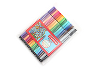 Stabilo Pen 68 Marker - 1.0 mm - 15 Color Set - STABILO 6815-1
