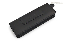 Waldmann Leather Pouch with Zipper for 2 Pens - WALDMANN 0137