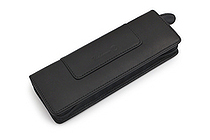 Waldmann Leather Pouch with Zipper for 2 Pens - WALDMANN 0137