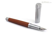 Staedtler Initium Lignum Fountain Pen - Plum Wood - Extra Fine Nib - STAEDTLER 9PM121EF