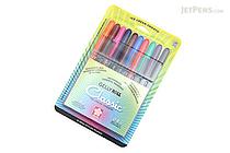 Sakura Gelly Roll Classic Gel Pen - Medium Point - 10 Color Set - SAKURA 37460