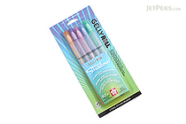 Sakura Gelly Roll Silver Shadow Gel Pen - 1.0 mm - 5 Color Set - SAKURA 58530