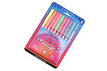 Sakura Gelly Roll Moonlight Gel Pen - 1.0 mm - 10 Color Set - SAKURA 38176