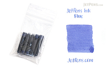 JetPens Fountain Pen Ink Cartridges - Blue - Pack of 5 - JETPENS FP-2 C-BL