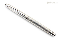 Waldmann Pocket Silver Fountain Pen - Steel Nib - Broad - WALDMANN 2381