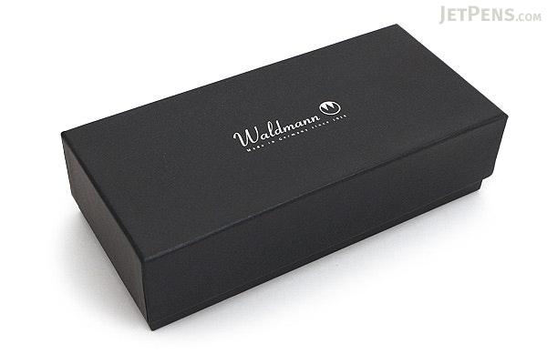 Waldmann Pocket Silver Fountain Pen - Steel Nib - Broad - WALDMANN 2381