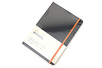 Rhodia Rhodiarama Softcover Notebook - A5 - Lined - Black - RHODIA 117402